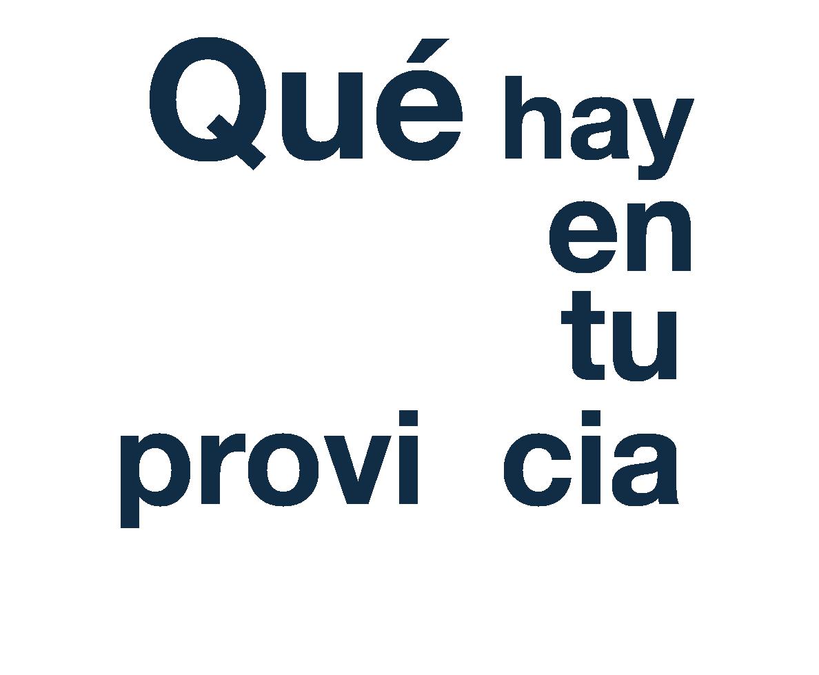 Ir al inicio de la Agenda Provincial